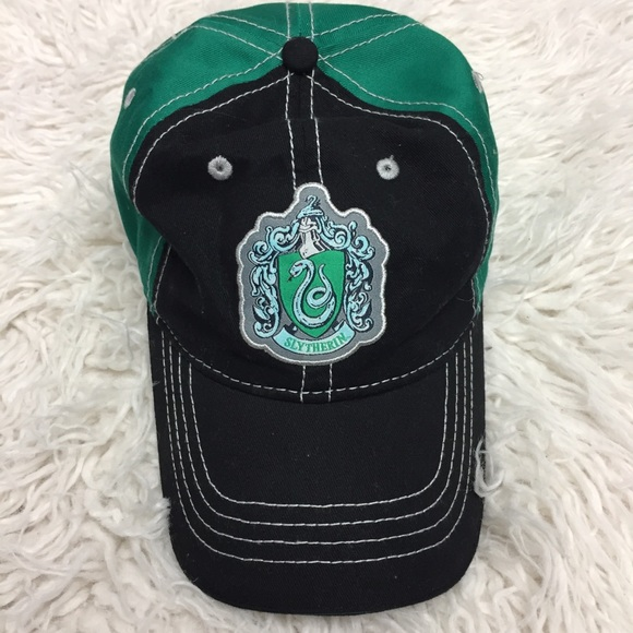 a7bf16b2752f3 harry potter Accessories - Slytherin Dad Hat from Harry Potter World